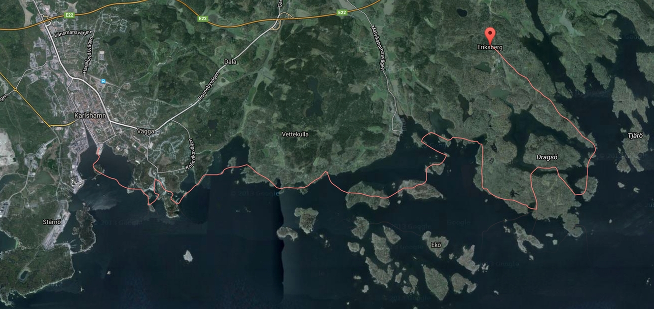 Karta Karlshamn